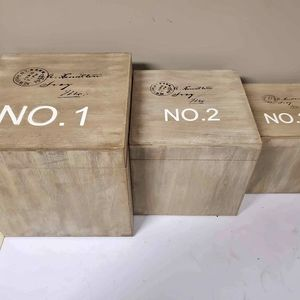 Other - NEW Numbered Wooden Box Set from Urban Barn